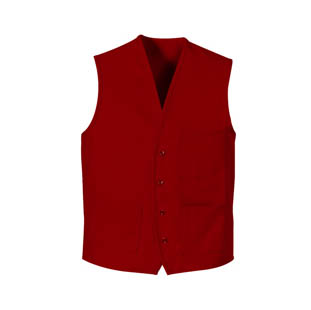 Red Kap Unisex Traditional V-Neck Vest (4 Color Choices) - Click for Large View