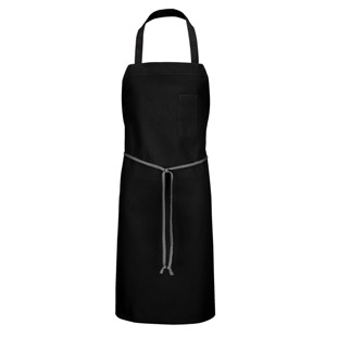 Bib Apron with Pencil Pocket - Click for Large View