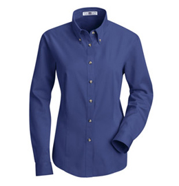 Red Kap Women's Meridian Performance Long Sleeve Twill Shirt