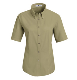 Red Kap Women's Meridian Performance Short Sleeve Twill Shirt