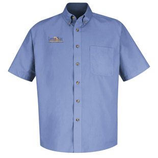 Lawson State Community College Meridian Performance Short Sleeve Twill Shirt - Click for Large View