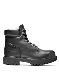 Timberland PRO Men's Black Direct Attach 6 Inch Soft Toe Boots