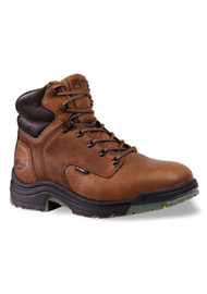 Timberland PRO 6 Inch TiTAN Brown Safety Toe Work Boots