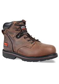 A Timberland PRO work boot.