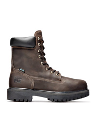 Timberland PRO Men's Brown Direct Attach 8 Inch Soft Toe Boots