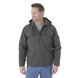 Wrangler Riggs Workwear Hooded Ranger Jacket - Click for Large View