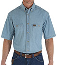 Wrangler Riggs Workwear Chambray Work Shirt