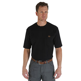 Wrangler Riggs Workwear Pocket T-Shirt - Click for Large View