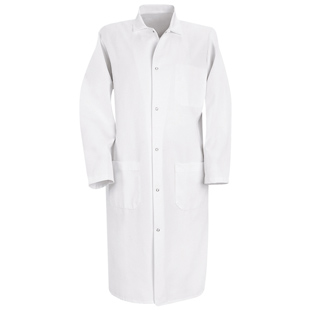 Chef Designs Unisex Butcher Frock with Inside Breast Pocket - Click for Large View