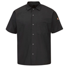 Chef Designs Men's Short Sleeve Cook Shirt with MIMIX