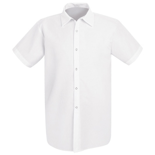 Chef Designs Unisex Long Cook Shirt without Pocket (Has Longer Body Length) - Click for Large View