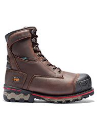 Timberland PRO Men's Brown Boondock 8 Inch Composite Toe Work Boots