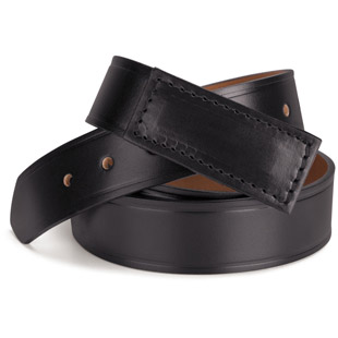 Marinette High School Auto Leather No Scratch Buckle Belt - Click for Large View