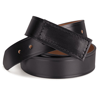 100% Leather No Scratch Buckle Belt - Click for Large View