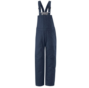 Bulwark Flame Resistant Cotton Blend Deluxe Insulated Bib Overalls - Click for Large View