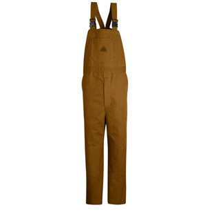 Bulwark Flame Resistant Unlined Bib Overalls - Click for Large View
