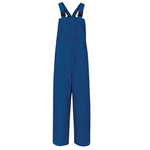 Bulwark Flame Resistant Nomex IIIA Unlined Bib Overall - Click for Large View