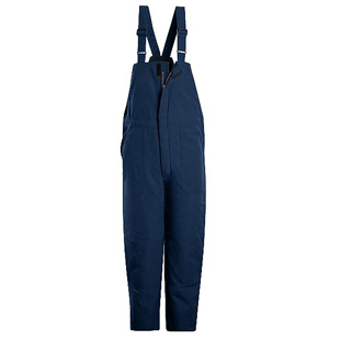 Bulwark Flame Resistant Nomex IIIA Deluxe Insulated Bib Overall - Click for Large View