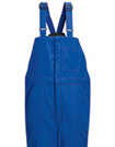 Nomex IIIA Flame Resistant Deluxe Insulated Bib Overall with Reflective Trim