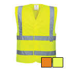 Portwest Hi-Vis Two Band & Brace Vest - Type R, Class 2