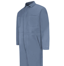Red Kap Men's Snap Front Cotton Coveralls - 5 color choices