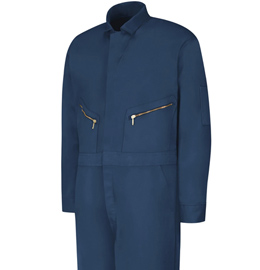 Red Kap Men's Zip-Front Cotton Coveralls