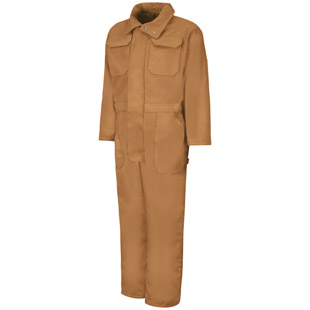 Red Kap Duck Insulated Coverall - Click for Large View