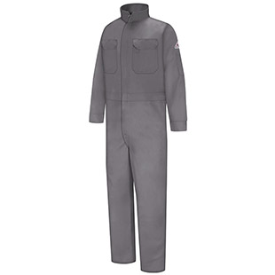 Bulwark Flame Resistant Excel-FR Cotton Deluxe Coveralls - Click for Large View