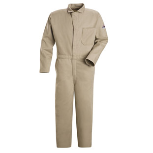 Bulwark Flame Resistant Excel-FR Cotton Classic Coveralls - Click for Large View