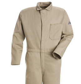 Bulwark Flame Resistant Excel-FR Cotton Classic Coveralls