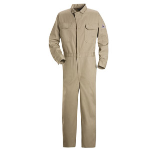 Bulwark Flame Resistant Excel-FR Deluxe Cotton Coverall - Click for Large View