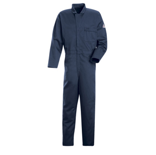 Bulwark Flame Resistant Cotton Industrial Coverall - Click for Large View