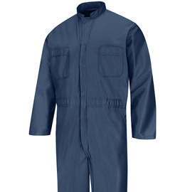 Paint Operations Anti-Static Navy Blue Coveralls