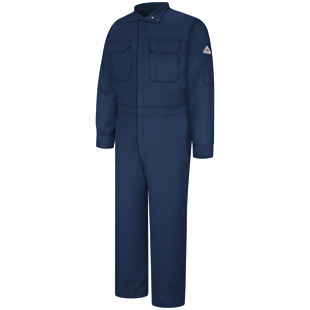 Flame Resistant Excel-FR Comfortouch Blend Deluxe Coverall - Click for Large View