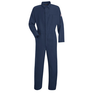 Bulwark Nomex IIIA Flame Resistant 4.5 oz. Contractor Coveralls - Click for Large View