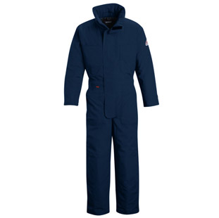 Bulwark Flame Resistant Deluxe Nomex IIIA Insulated Coverall - Click for Large View