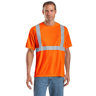 CornerStone ANSI 107 Class 2 Safety T-Shirt - Click for Large View