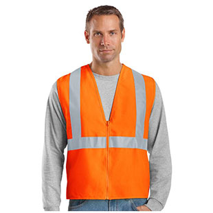 CornerStone ANSI 107 Class 2 Safety Vest - Click for Large View
