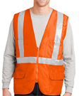 CornerStone ANSI 107 Class 2 Mesh Back Safety Vest