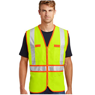CornerStone ANSI 107 Class 2 Dual-Color Safety Vest - Click for Large View