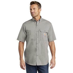 Carhartt Force Ridgefield Solid Short Sleeve Shirt - Click for Large View