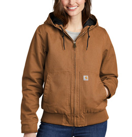Carhartt Womens Washed Duck Active Jac