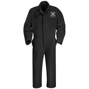 Cordova High School Auto Shop Action Back Coverall - Click for Large View