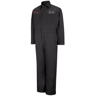 Osseo Senior High School Auto Tech Action Back Coverall - Click for Large View