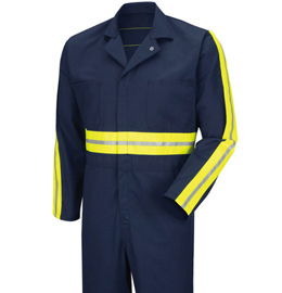 Red Kap Enhanced Visibility Action Back Coverall