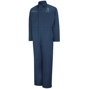 York Auto & Collision Repair Action Back Coverall� - Click for Large View
