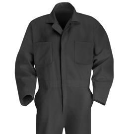 Men's Twill Action Back Coverall - 9 color choices