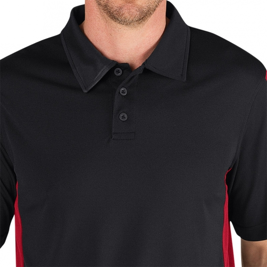 Women black polo collar dickie belknap hot