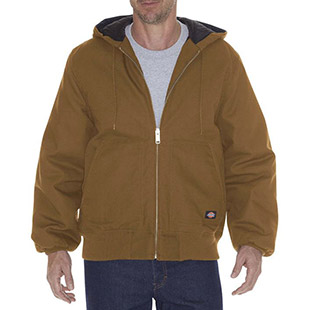 Dickies Rigid Duck Hooded Jacket - Click for Large View