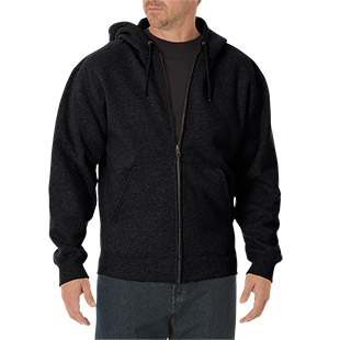 Dickies Midweight Fleece Full Zip Hoodie - Click for Large View